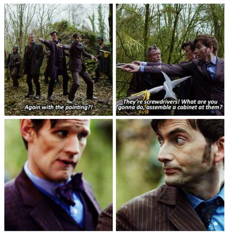 Doctor Who 50th anniversary special.  You tell them 8.5! (Personally I didn't appreciate Ten waving his sonic around like that; it's out of character for him)