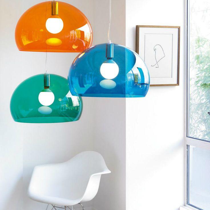 Fly, una sospensione colorata per rendere piacevole e divertente ogni spazio!