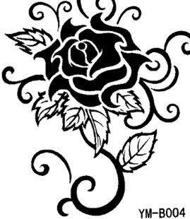 tatuaggi rose nere - Cerca con Google