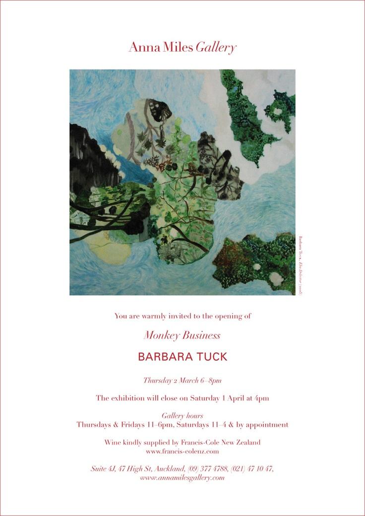 March 2006, BARBARA TUCK, Monkey Business