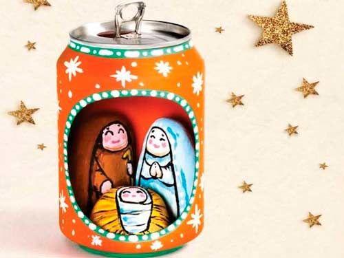 9 Ideas hermosas para hacer nacimientos navideños en miniatura