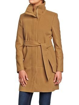 Womens Long Belted Coats Old Navy Clothing Pinterest Coat Coats For Women And Clothes For Women
