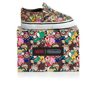 Vans Classic Slip-On - Nintendo Super Mario Bros/Multi | Free Delivery Options