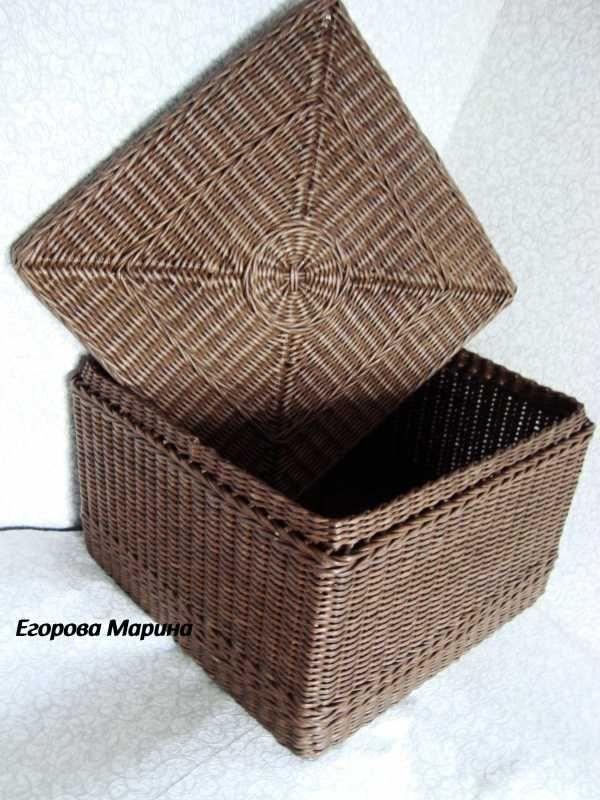 Тема: плетенки от марины (46/51) - Плетение из газет и другие рукоделия…