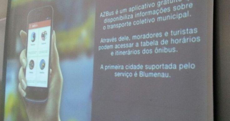 Blumenau lança aplicativo com horários e itinerários de ônibus