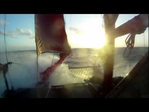 "Trailer for film ""Our Blue Canoe"" tha will document journey across Pacific by Pacific Voyagers"