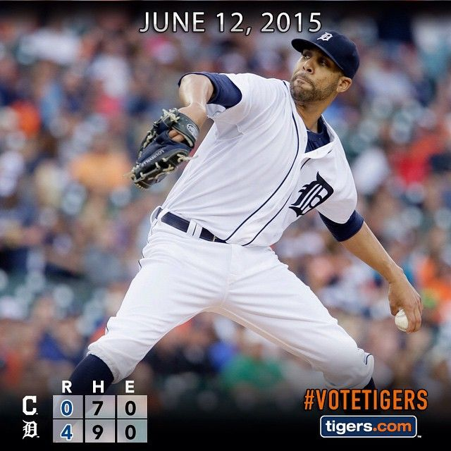 Miguel Cabrera's four RBIs back @davidprice14's shutout as #Tigers win series opener vs. Indians.