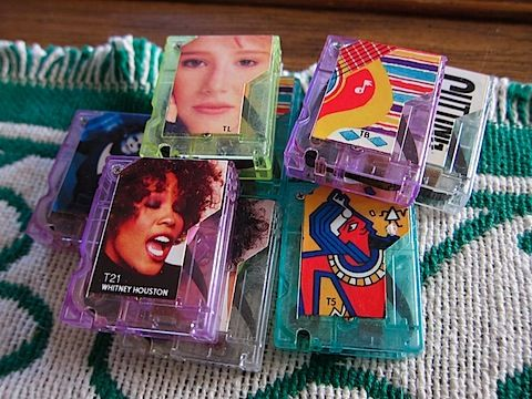 """Pocket Rockers!  Everytime I hear, """"I think we're alone now"""" I think of @Brittany Willoughby because she had one of these awesome contraptions!  :)"""