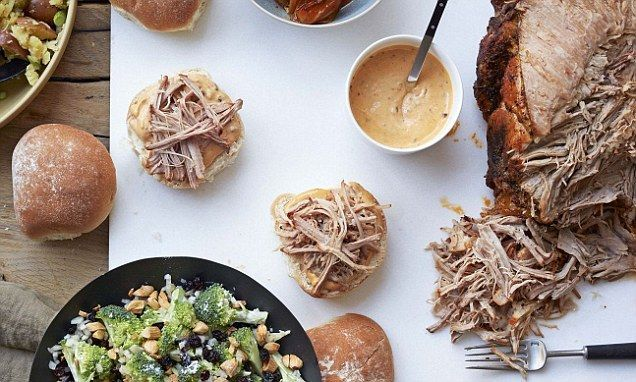 Food special: Slow-cooked smoky pulled pork butt with chipotle mayo | Daily Mail Online