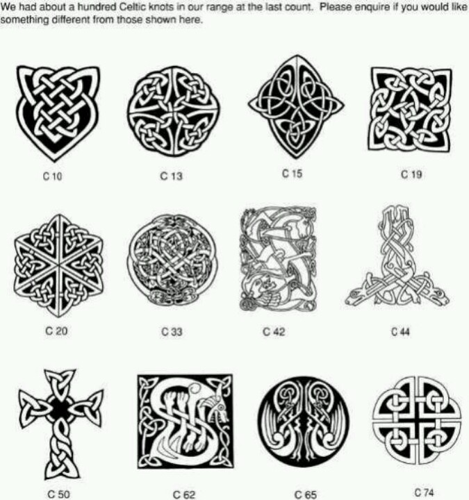 Celtic Knots:tattoo inspiration