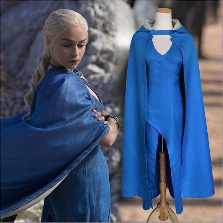 Daenerys Targaryen Cosplay Costume //Price: $57.96 & FREE Shipping //     #chapter #chain