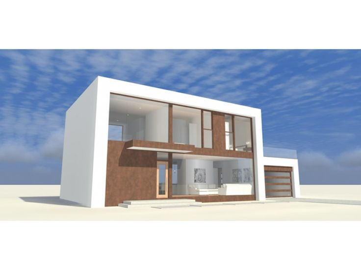 eplans contemporary modern house plan glass walled wonder 2754 square feet and 4