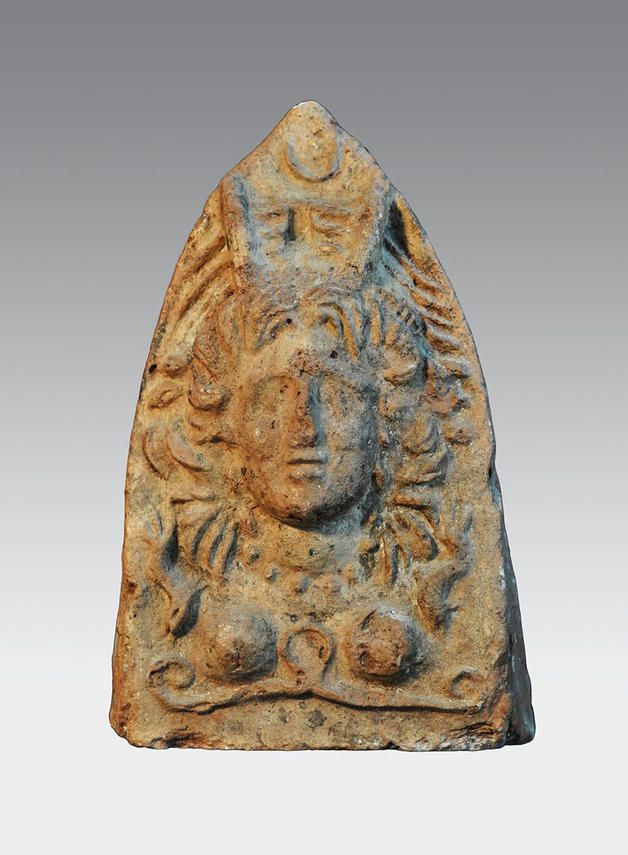 Anetfix in the Form of a Goddess's Head