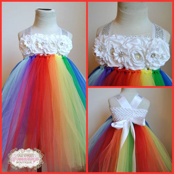 Hey, I found this really awesome Etsy listing at https://www.etsy.com/listing/203669573/rainbow-with-bling-wedding-flower-girl