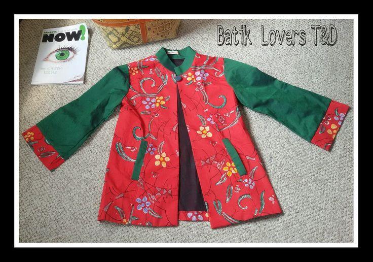 Blazer size L up to Xl..idr 295.000..bahan batik kombinasi tenun