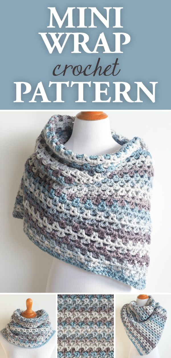 This project is great to crochet on a night in, as the lighter weight yarn makes this a project you'll want to take your time with.    #crochet #crocheting #crochetlove #crochetlife #crochetaddict #crochê #croche #bhooked #happycrochet #addictedtocrochet #crochetpattern #crochewrap