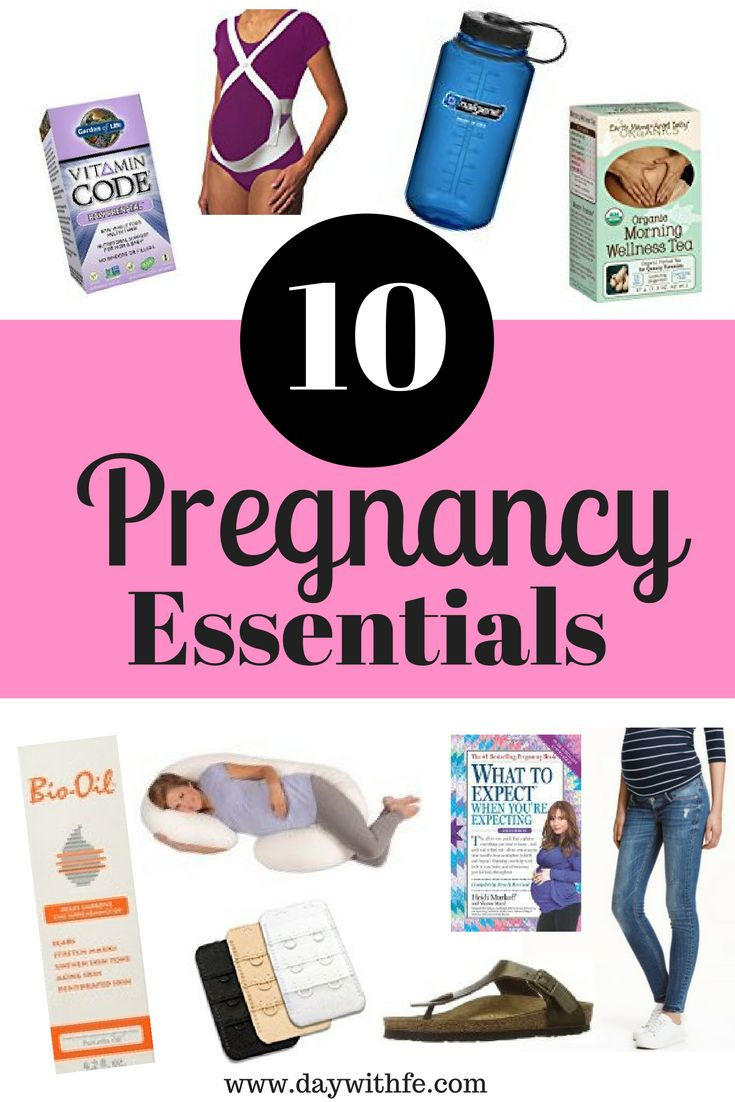 Top 10 Pregnancy Essentials