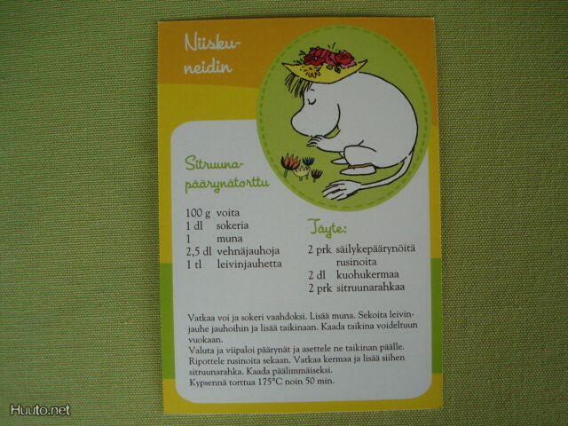 Niiskuneidin Sitruuna-päärynätorttu