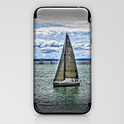Yacht iPhone & iPod Skin by AngelEowyn. $15.00