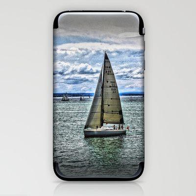 Yacht iPhone & iPod Skin by AngelEowyn. $15.00