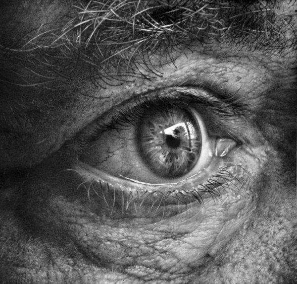 hyperrealistic eye - These hyperrealistic eye images by Armin Mersmann are sure to catch every viewer's eye.  After thoroughly scanning each image, it is still in...