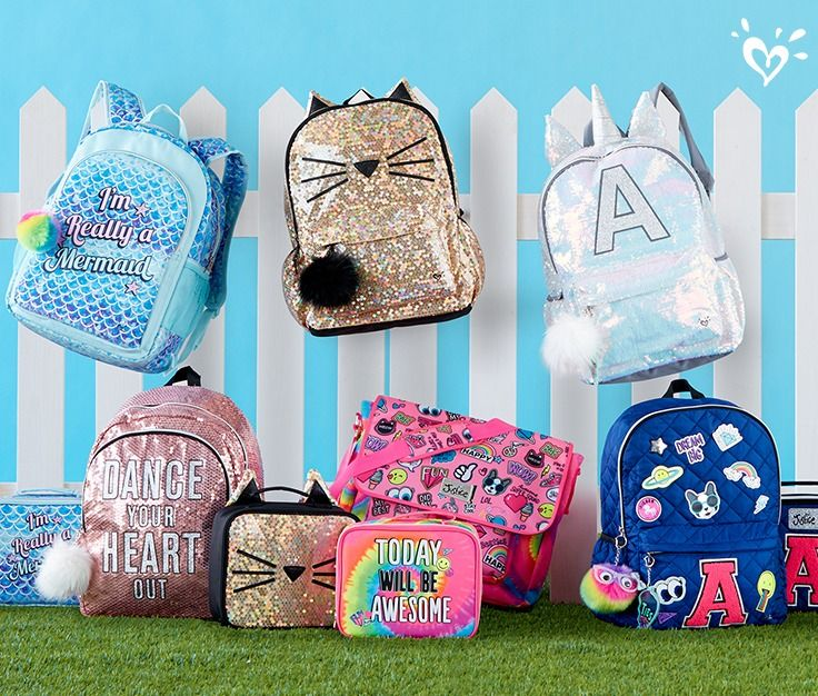 Our backpacks and supplies are all she needs, plus they're super cute!
