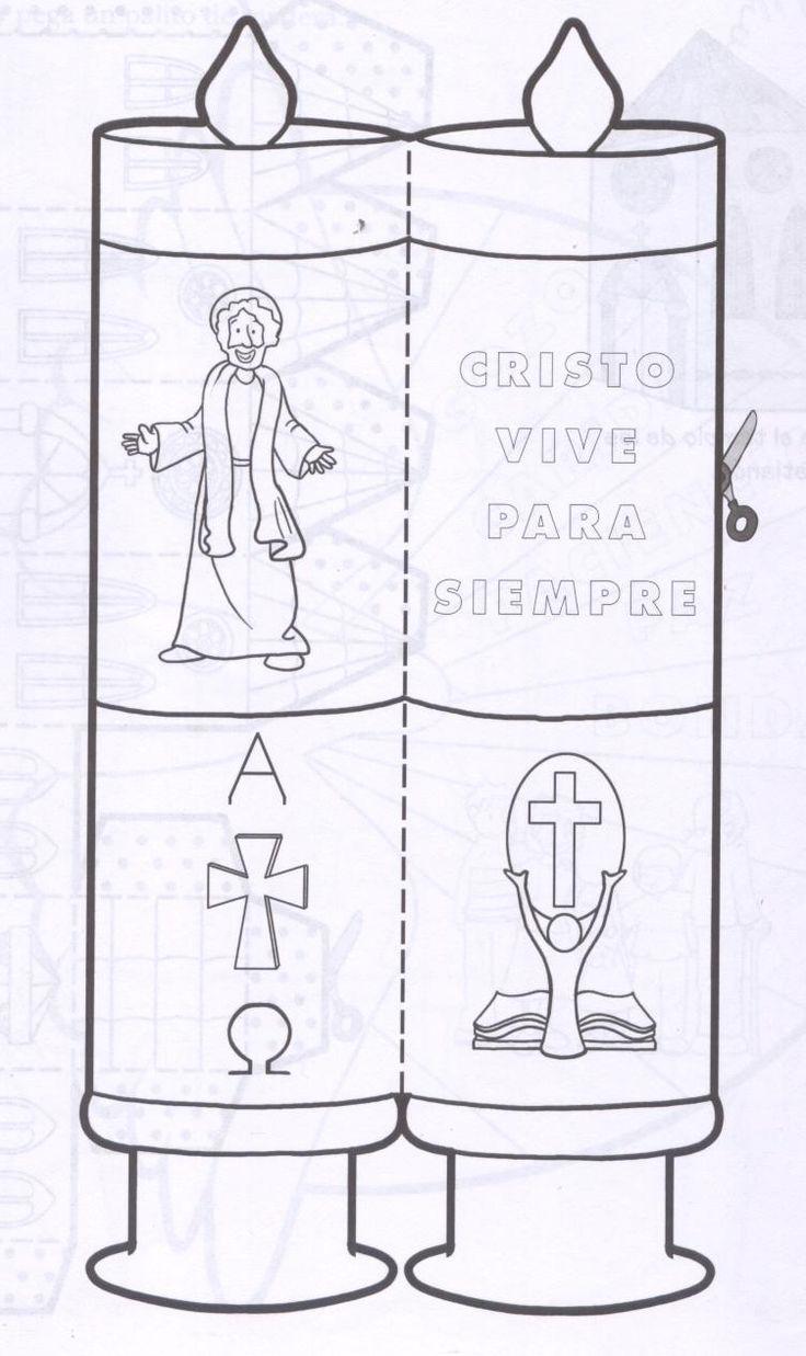 La Catequesis: Recursos Catequesis: El Cirio Pascual