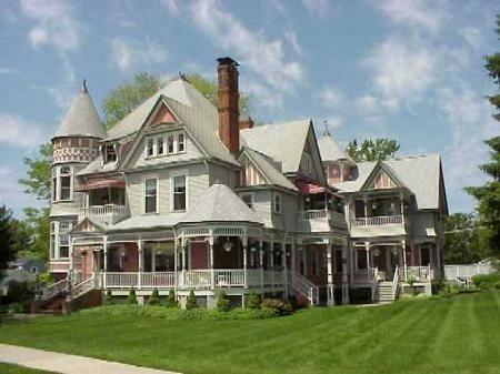 The Heather House  1885 Victorian: Queen Anne  Marine City, Michigan
