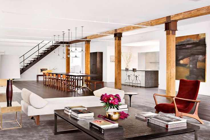 Stylish Laconic And Functional New York Loft Style: 419 Best Images About Gorgeous Modern Interiors On