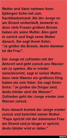 Mutter und Vater nehmen ihren 6jährigen Sohn mit..   DEBESTE.de, Lustige Bilder, Sprüche, Witze und Videos