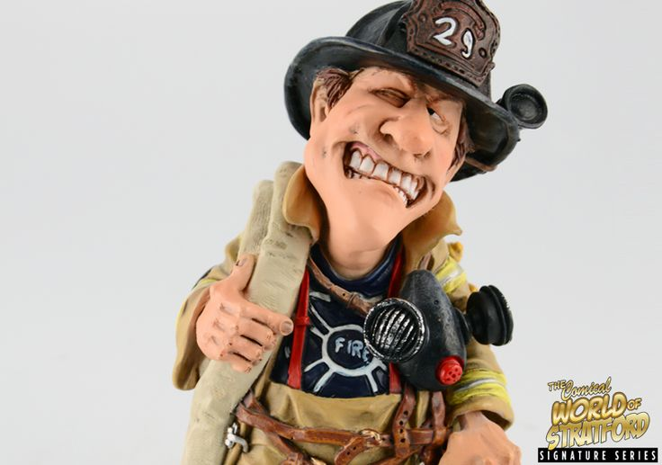 Collectible Funny Fireman And Firefighter Gift And