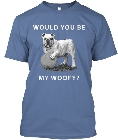 Are you a dog lover? Are you a proud Bull DOG owner? if so, this T-shirt is made for you.  Important: This product is only available until April 11th 2016. Act Fast!!
