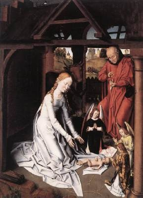 Nativity,1475-1500, Hans Memling
