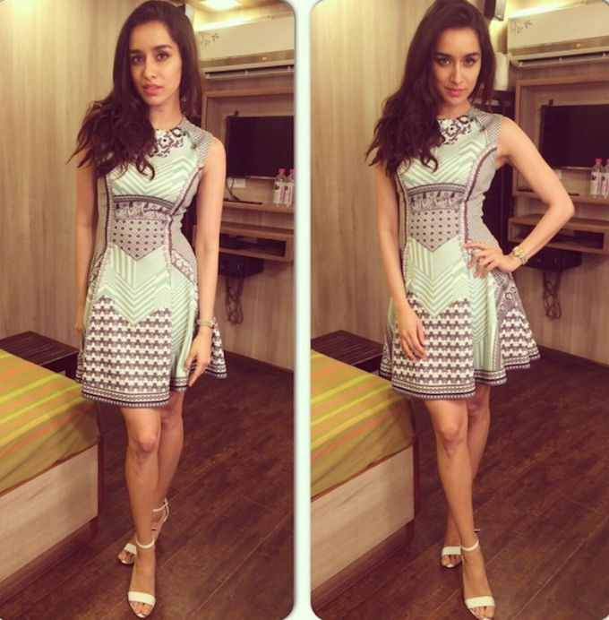 Shraddha Kapoor's ABCD 2 Promo Outfits Are All Super Hits!