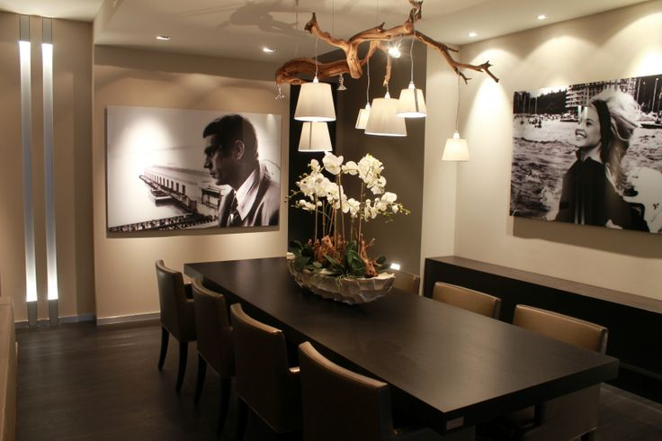 Eetkamer/lamp/bloemenschaal  Eetkamer  Pinterest