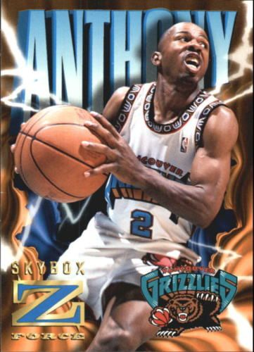 Greg Anthony Vancouver Grizzlies