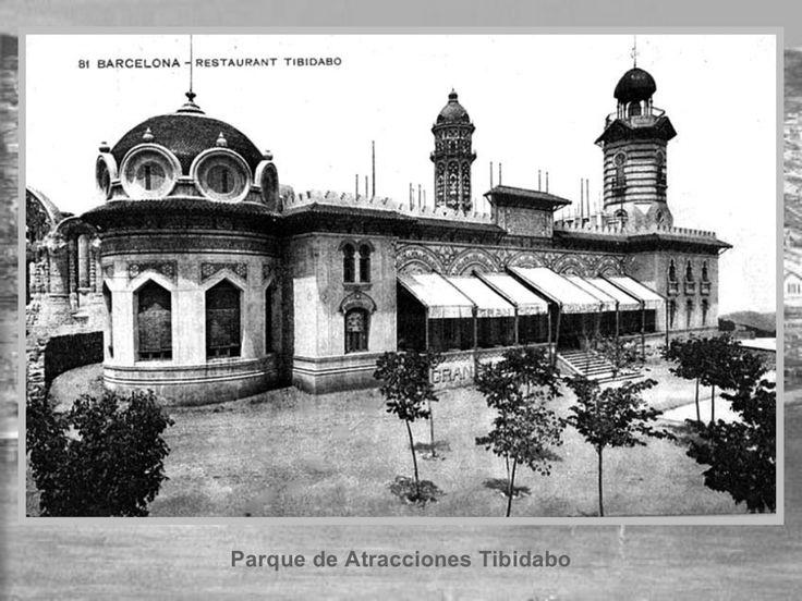 Barcelona, Restaurant Tibidabo | Fotos Històriques de Barcelona 1890 – 1932