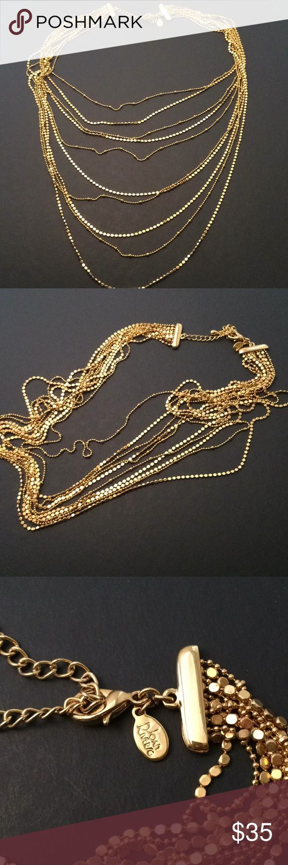 Joan rivers gold tone necklace, new Joan rivers gold tone necklace, new , without tag ,size is 18 inches , adjustable for more size, bundle to save for shipping Joan rivers Jewelry Necklaces