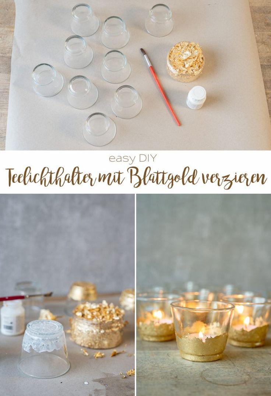 DIY simples e barato: faça suas próprias idéias de decoração para o seu casamento   – Hochzeit