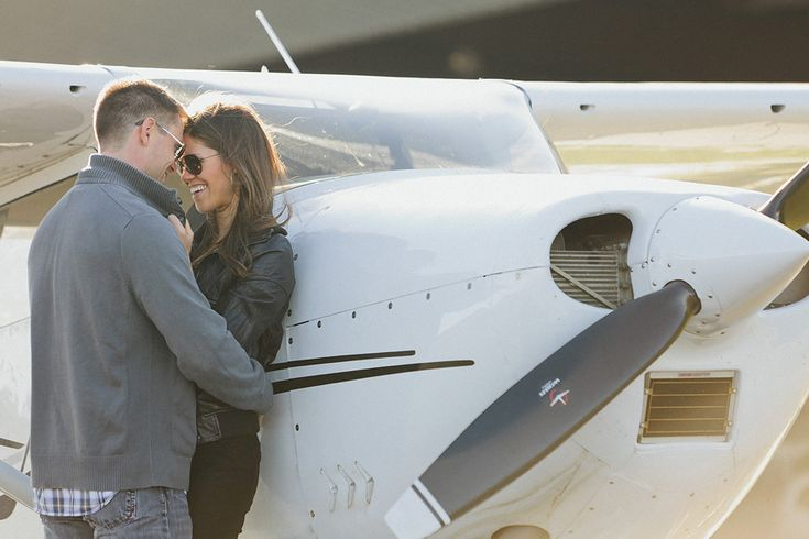 aviation inspired weddings | Aviation Inspired Engagement Session | Pensacola Wedding Photographer ...