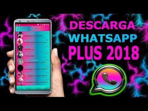 Como descargar y actualizar WhatsApp Plus ultima versión 6.40-2018 Actualizado - YouTube