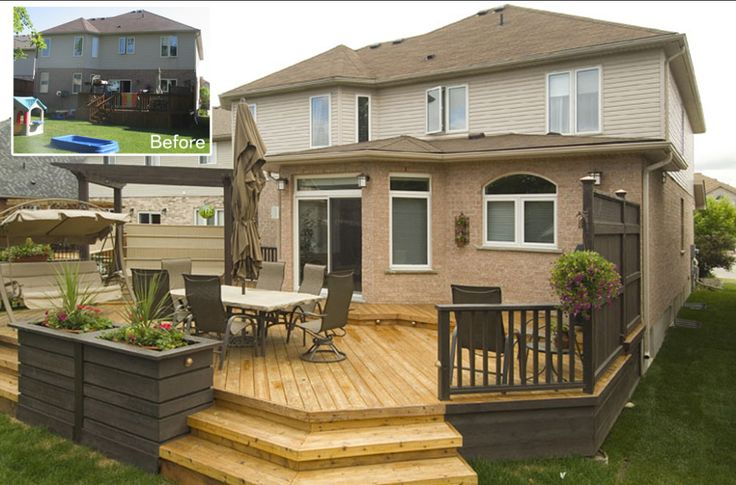 1000+ ideas about Small Backyard Decks on Pinterest  Backyard decks, Small decks and Back deck