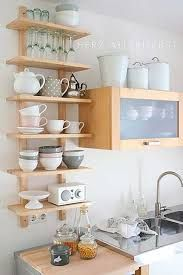 Resultado de imagen para decoracion cocina estantes