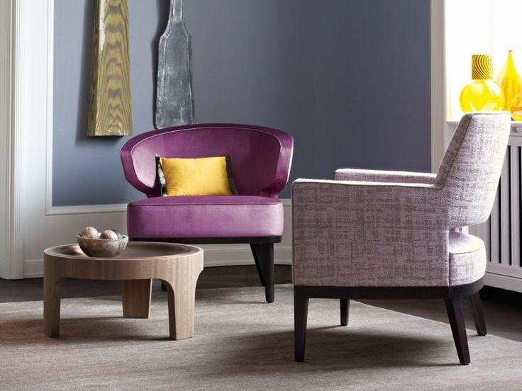meuble tendance et couleur utlra violet - chaise design