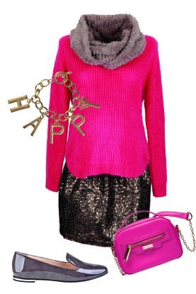 4 sposoby na różowy pulower – zestaw na kolację