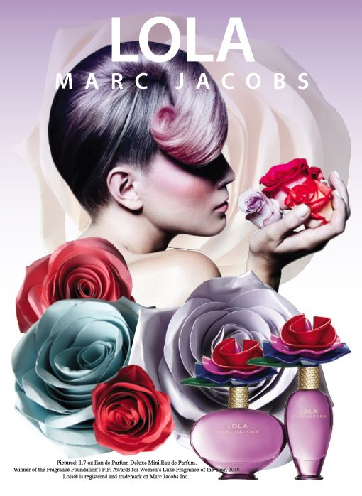 2011 Campaign for Marc Jacobs Lola perfume