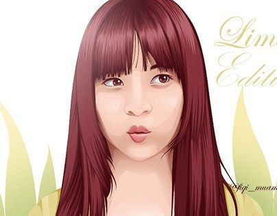 """fan art cindy yuvia (yupi) jkt48 vector vexel cartoon illustrations"" http://be.net/gallery/40686421/fan-art-cindy-yuvia-jkt48-cartoon-illustrations"