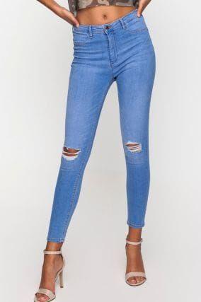 Jeans Skinny Vita Alta Push-Up