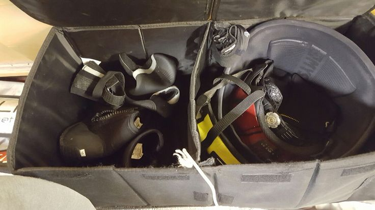 Great way to store your windsurfing equipment