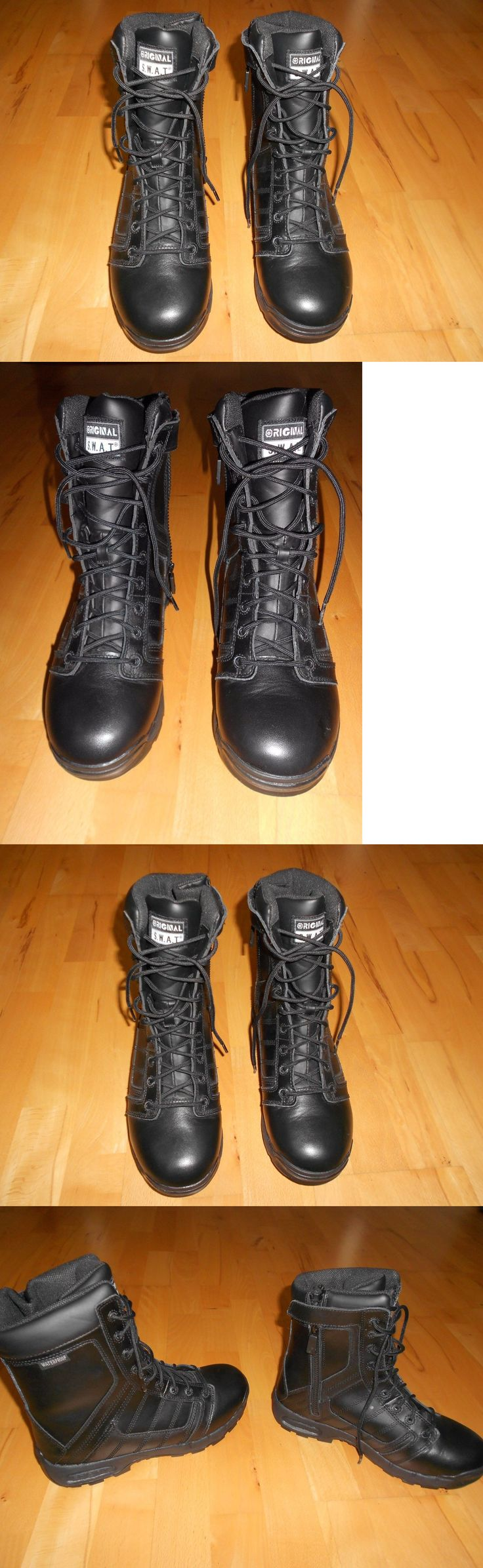 Tactical Footwear 177897: Men S 10 Original S.W.A.T 123401 Metro Air 9 Side Zip Thinsulate Tactical-Boot -> BUY IT NOW ONLY: $57.99 on eBay!